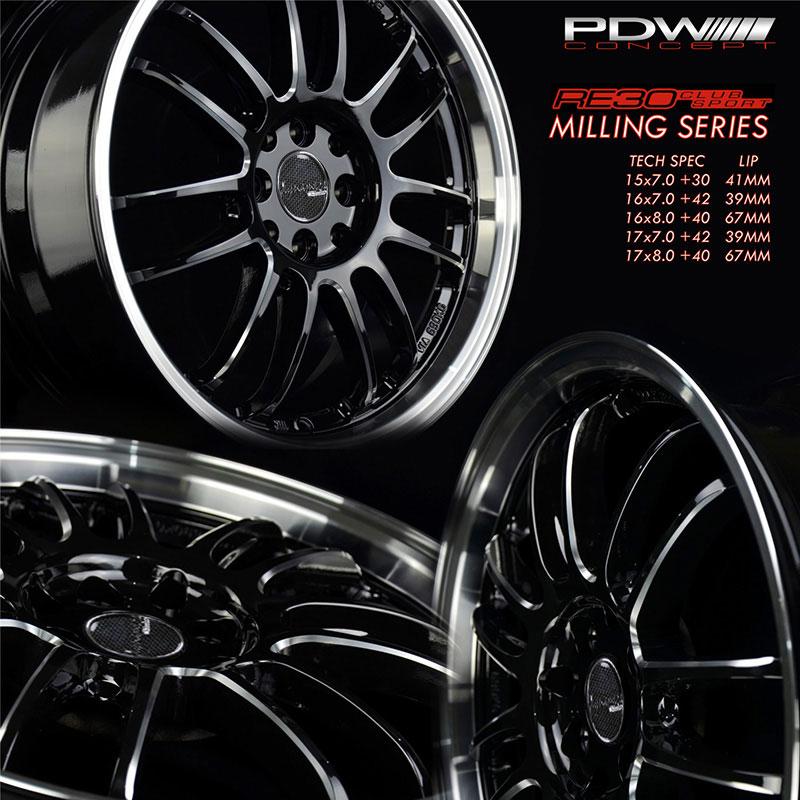 Колесные диски PDW RE30 CLUB SPORT